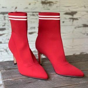 Red Finn Sock Booties